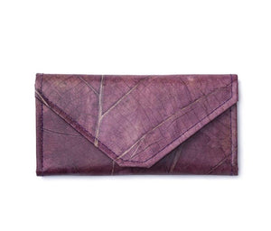 Chloe- Leaf Leather - Envelope Wallet