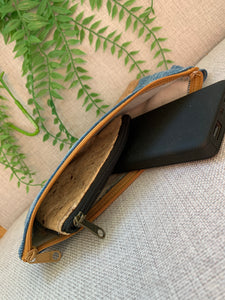 Cork and Cotton Wristlet