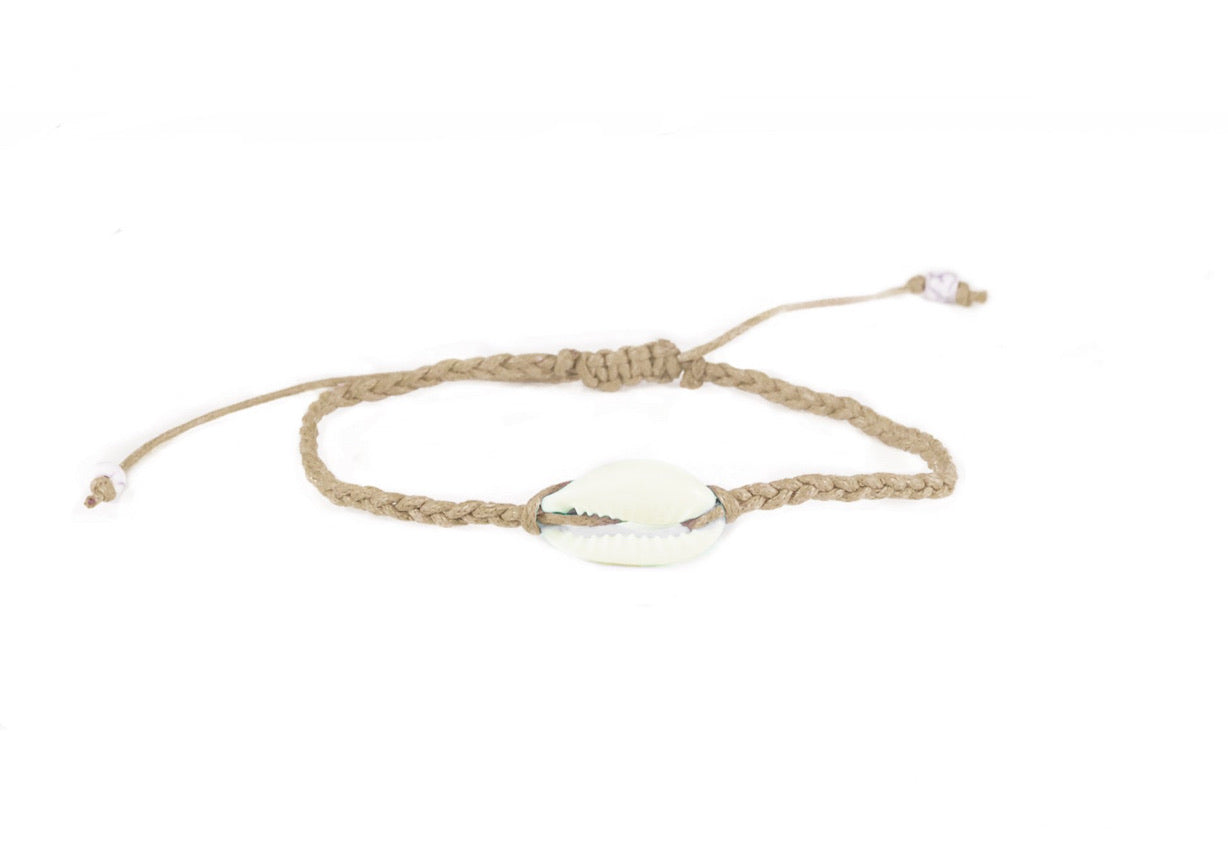 Shell Braided Bracelet / Anklet