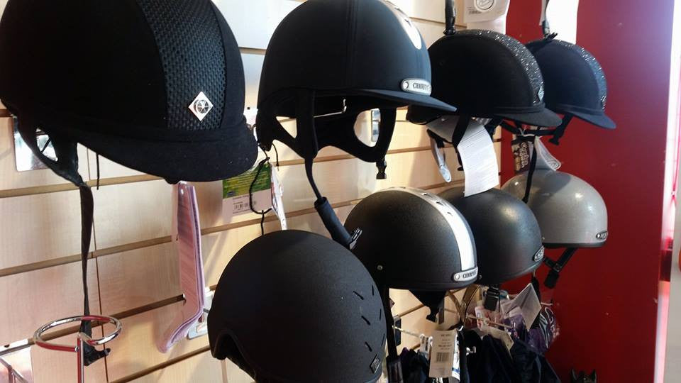 Range of Riding Hats and Helmets