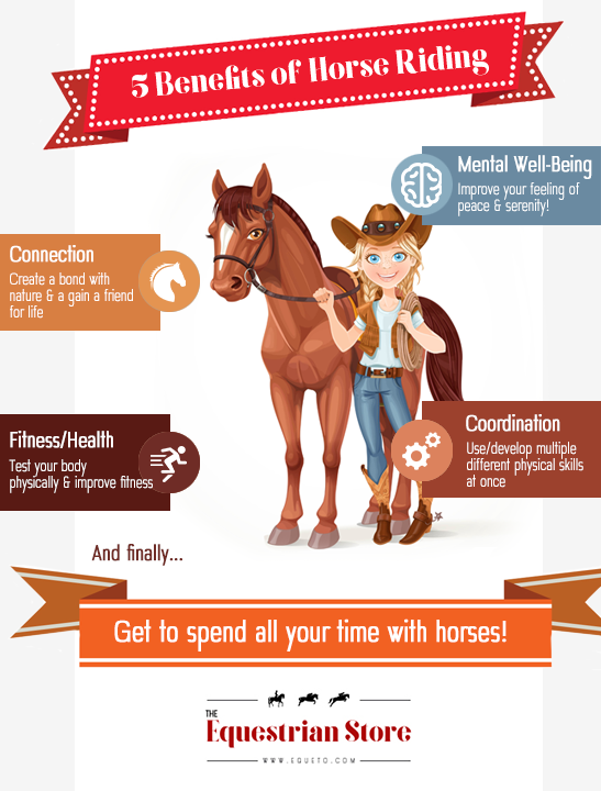 5 Benefits of horse riding