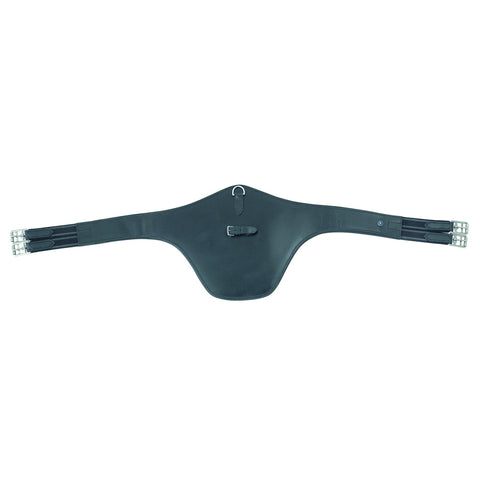 Shires Blenheim Leather Stud Guard Girth - Equeto