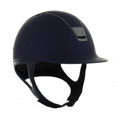 Samshield ShadowMatt 255 Swarovski Trim Navy Hat