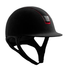 Samshield Premium Top Leather Red Trim Hat