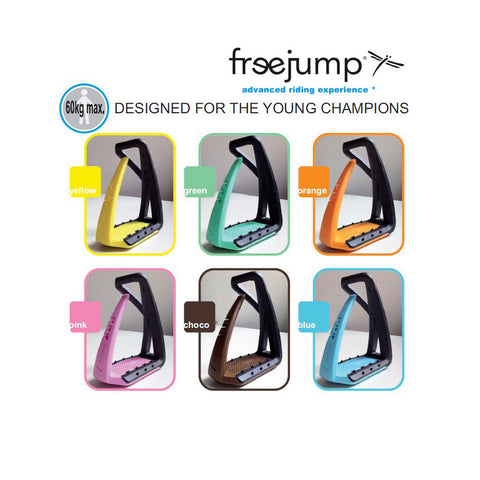 FreeJump Soft Up Lite Stirrups - Equeto  - 1