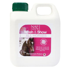 Naf Wash and Show All Horse