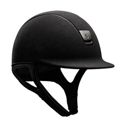 Samshield Premium Top Alcantara Mat Black Riding Hat