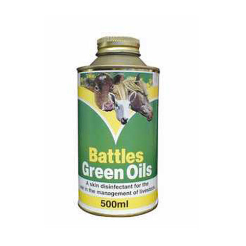 Battles Green Oil 500ml - Equeto