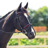 Horze Mette Bridle Black/Red