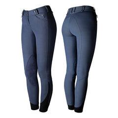 Tredstep Solo Knee Patch Breeches - French Blue