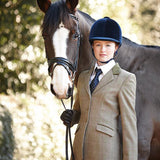 Dublin Ladies Wolverton Tweed Riding Jacket - Equeto  - 3
