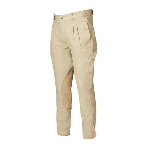 Dublin Men's Supa Heritage Clarino Knee Patch Breeches - Equeto