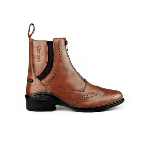 Brogini Epsom Leather Ankle Boot - Equeto