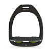 Flex-On Inclined Ultra Grip Stirrups - Black/Green
