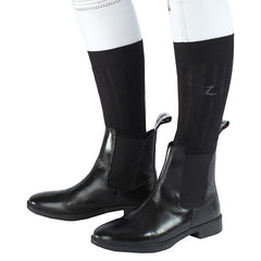 Horze Spirit Sage Black Leather Jodhpur Riding Boot