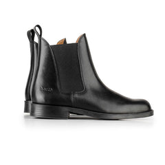 Horze Classic Black Leather Jodhpur Riding Boot