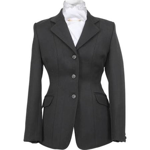 Shires Ladies Marlborough Hunt Coat - Black - Equeto