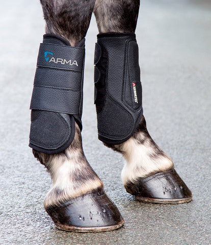 Shires Arma Cross Country Boots - FRONT - Equeto