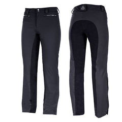 Horze Ladies Crescendo Leonore Padded Winter Pants - Black