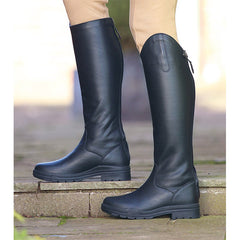 Shires Unisex Moreton Long Leather Riding Boot - Black