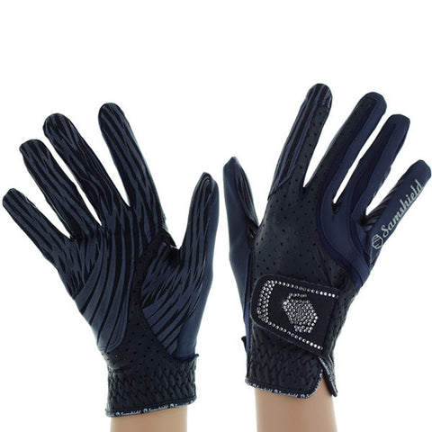 Samshield Riding Glove Navy/Swaro