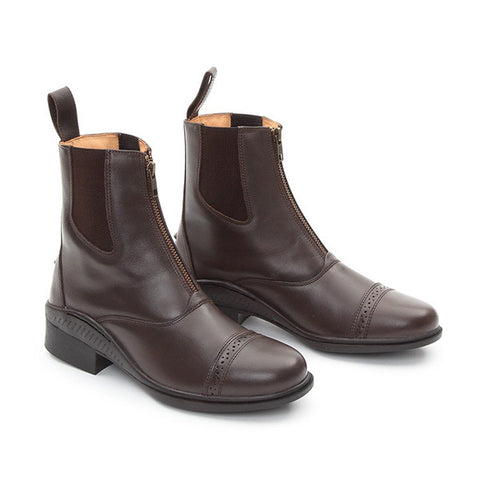 Shires Unisex Oxford Leather Paddock Boot - Equeto
