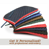 Personalised Saddle Clothes - Choice of Colours & Embroidery - Equeto  - 1
