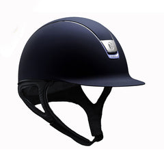 Samshield Shadowmatt Navy Standard 5 Swarovski Riding Hat