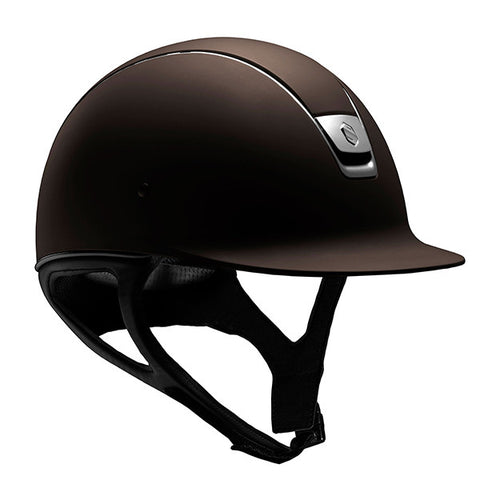 Samshield Shadowmatt Brown Riding Hat
