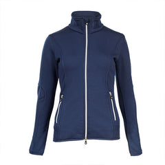 Horze Ladies Crescendo Tyra Stretch Fleece Jacket - Navy