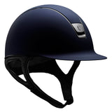 Samshield ShadowMatt Standard Navy Riding Hat - Equeto