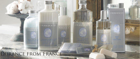 Durance Fragrances from home care lavender range