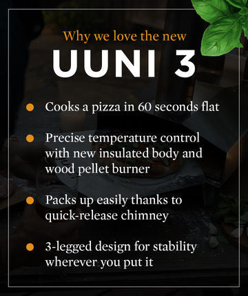uuni 'why we love the new uuni' list