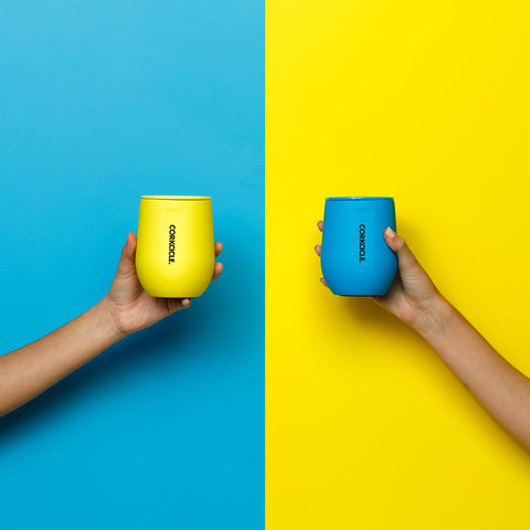 corkcicle neon insulated cup