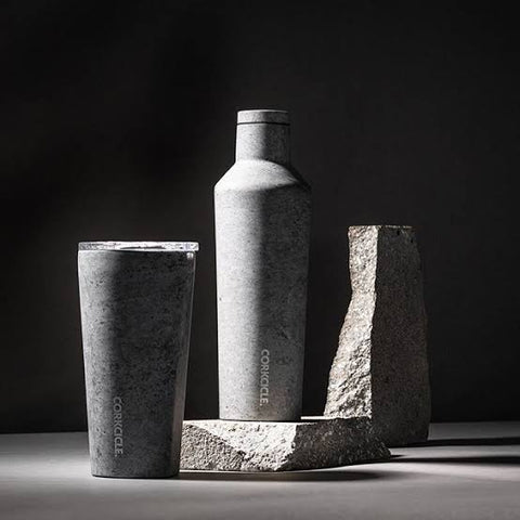 corkcicle insulated tumbler concrete origins