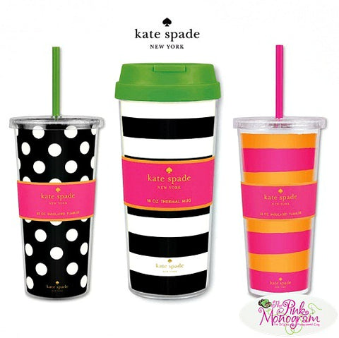 Kate Spade-Drinkware-Tumblers-cups-mugs-thermal