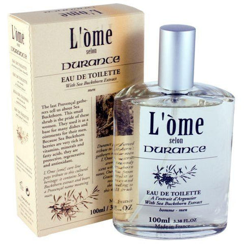 DURANCE | L' Ome Eau de Toilette - Wild Sea Buckthorn 100ml