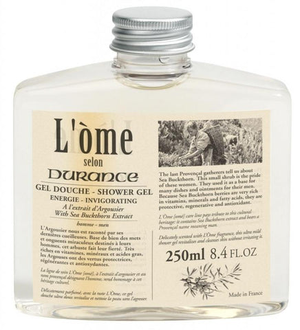 DURANCE | L'Ome Shampoo Hair and Body 250ml - Wild Sea Buckthorn