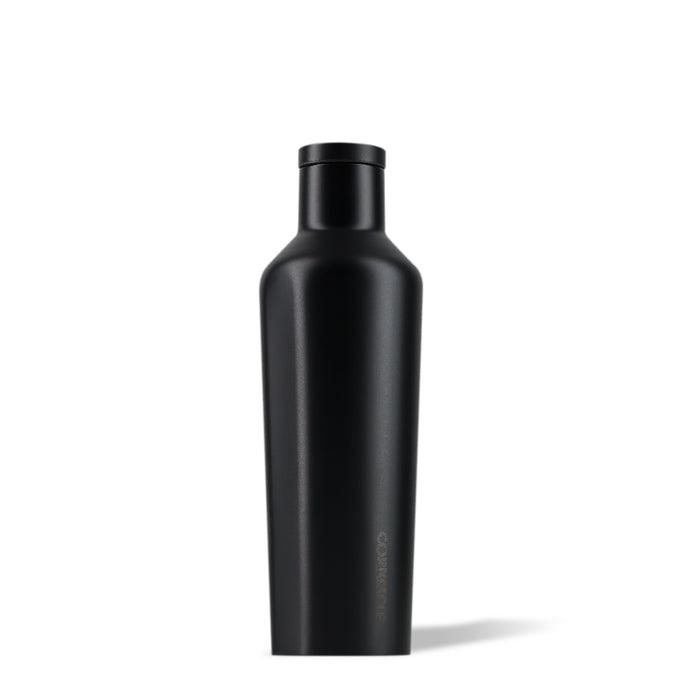 CORKCICLE | Stainless Steel Insulated Canteen 16oz (475ml) - Dipped Blackout