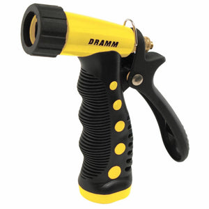 DRAMM | Touch N Flow Pistol Style Watering Gun - Yellow