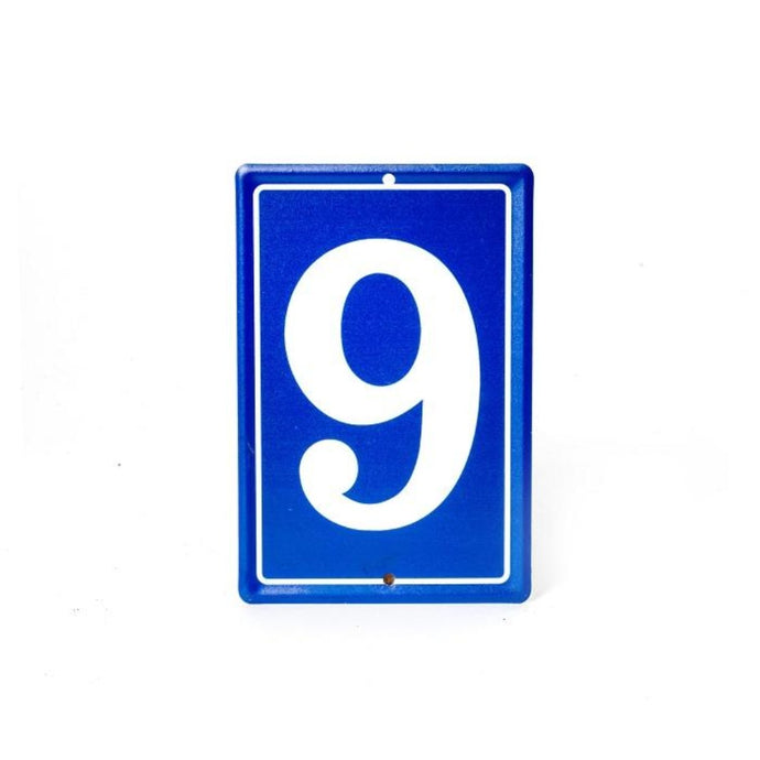MARTHA'S VINEYARD French Style House Number - 9