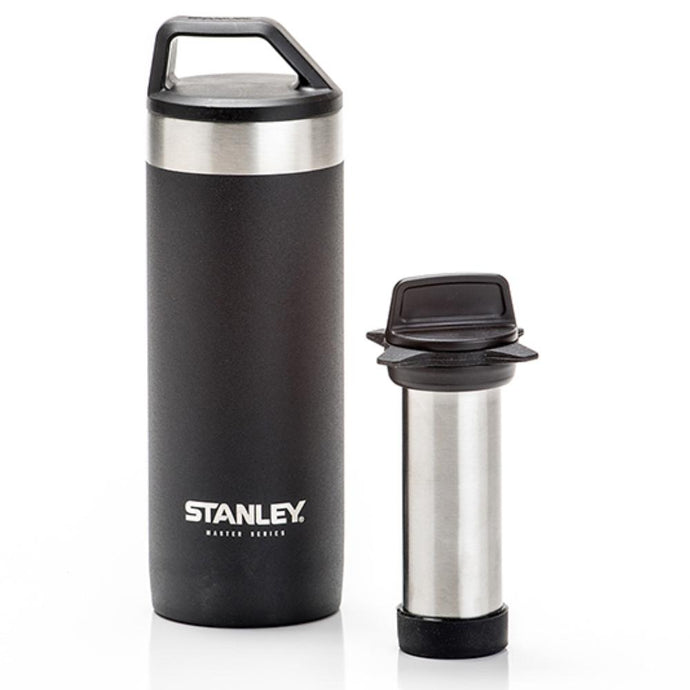 STANLEY | MASTER 532ml Vacuum Mug + Quicksip™ - Foundry Black