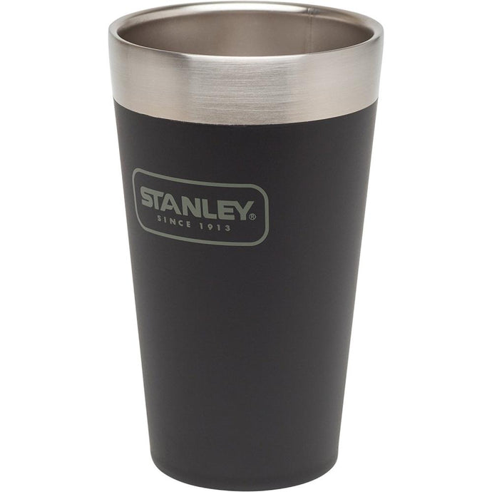 STANLEY | ADVENTURE Stacking Pint Tumblers 470ml (16oz) - Matte Black
