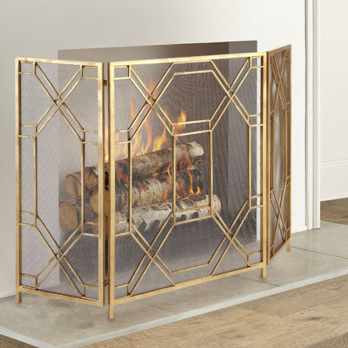 UTTERMOST Rosen Fireplace & Spark Screen