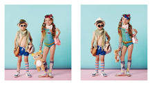 Load image into Gallery viewer, IZIPIZI PARIS | Sun Kids - Red (1-3 YEARS) models