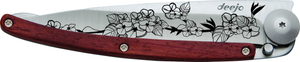 DEEJO KNIFE | Rosewood 37g - Cherry Blossom Closed
