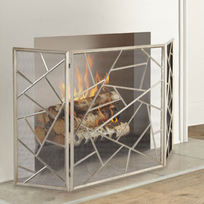 UTTERMOST Armino Fireplace & Spark Screen