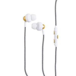 KREAFUNK | Agem Earphones - White Hands Free Function Cable