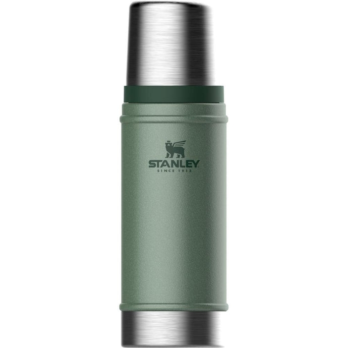 STANLEY | CLASSIC 473ml Insulated Vacuum Flask - Hammertone Green