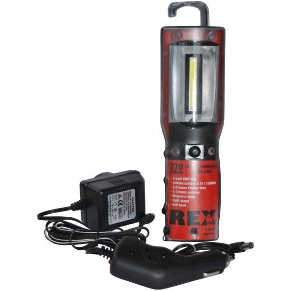 Stonex 3 Watt LED Rechargeable Work Light - 270 Lumens